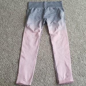 EUC Gymshark High Waisted Ombre leggings size Larg
